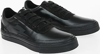 Neil Barrett Leather THUNDERBOLT SKATER LOW Sneakers size 39