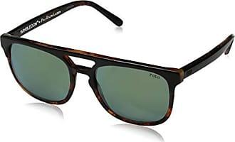 8925ea8cfa4ee Polo Ralph Lauren Mens 0ph4125 Non-Polarized Iridium Square Sunglasses top  black on havana jery