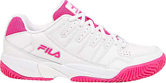 Fila Double Bounce Womens Tennis Shoes (9.5) White/Pink
