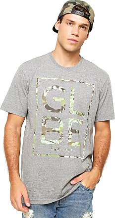 Globe Camiseta Globe Camo Cinza