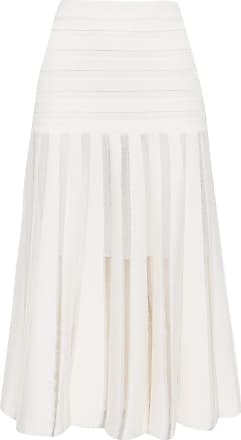 Animale SAIA TRICOT MIDI - OFF WHITE