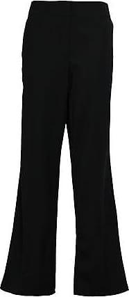 Rebecca Taylor Rebecca Taylor Woman Stretch-wool Twill Wide-leg Pants Black Size 12