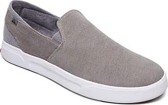 Quiksilver Surf Check Premium - Slip-On Shoes - Men - EU 41 - Grey