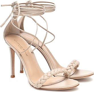 Gianvito Rossi Leomi 105 braided leather sandals