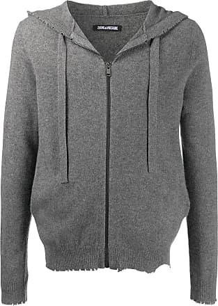 Zadig & Voltaire Clash hooded zip-up cardigan - Grey