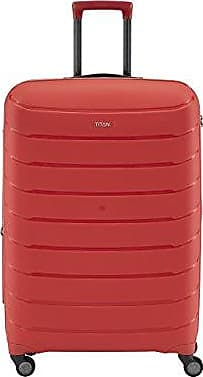 Titan Nonstop Multifunctional 22 Carry On Spinner Luggage Red