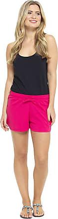 Tom Franks Womens Jersey Cotton Blend Shorts Ladies Beach Hot Pants Size UK 8-22 (20-22, Pink)
