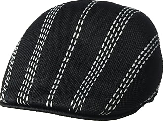 Kangol Mens Float Stripe 507 Ivy Cap Black Gray a4dae866a6f