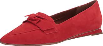Franco Sarto Womens Raya Loafer Flat, Red, 6 UK