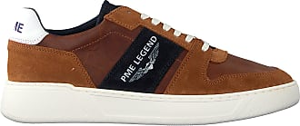 PME Cognacfarbene PME Sneaker Low Flettner