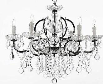 Gallery T22-1202 Versailles 6 Light 26 Wide Single Tier Chandelier