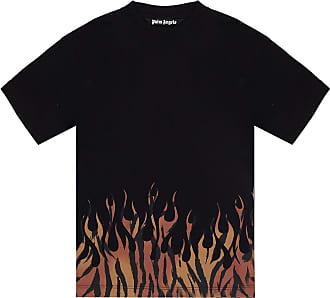 Palm Angels Logo T-shirt Mens Black