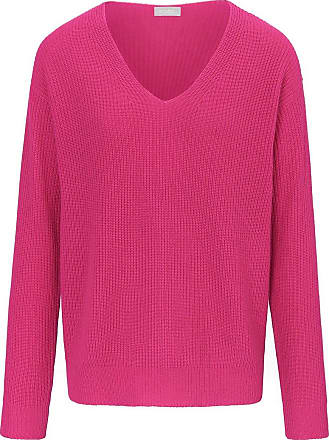 include V-Pullover include pink