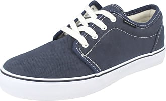 Lambretta Mens Casual Shoes WDY007 - Navy Synthetic - UK Size 7 - EU Size 41 - US Size 8
