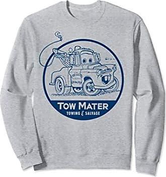 Disney Pixar Cars Tow Mater Salvage Badge Graphic Sweatshirt