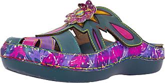 Laura Vita Bicllyo 03 Ladies Fashion Clogs, schuhgröße_1:40, Farbe:Blue