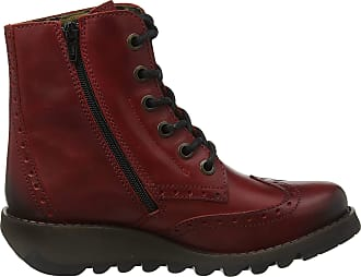 FLY London Womens SARL069FLY Ankle Boots, Red (Red 008), 5 UK (38 EU)