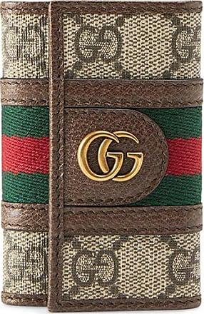 Gucci Ophidia GG keychain - NEUTRALS
