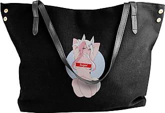 Juju Sugoi Anime Womens Classic Shoulder Portable Big Tote Handbag Work Canvas Bags