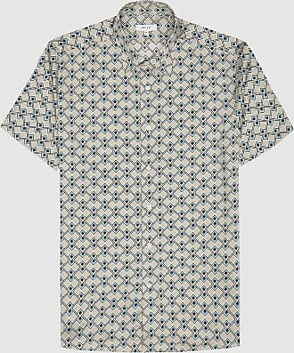 ARIAT Mens Darrett Ss Print Shirt