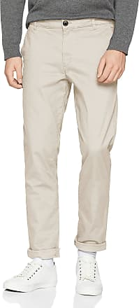 Selected Homme Mens Slhstraight-Paris L. Pants W Noos Trouser, Grey (Silver Lining), W31/L32 (Size: 31)