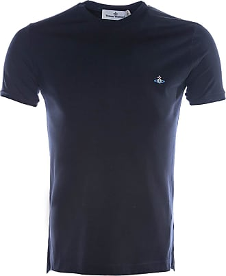 Vivienne Westwood Basic Logo Tee T Shirt in Navy