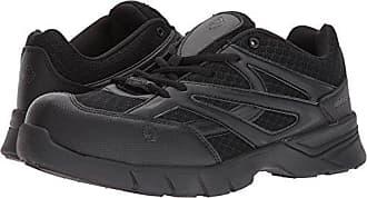 Wolverine Mens Jetstream Athletic Composite Toe Work Shoe, Black, 11 M US