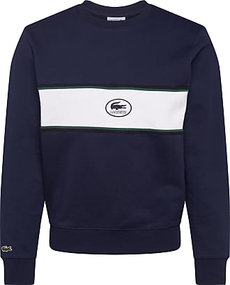 Lacoste Sweatshirt weiß / marine