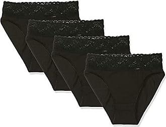 64b6a9ded8 Dim Culotte Coton Feminine midi x4 (2x2) Slip, Noir 0hz, 40 (