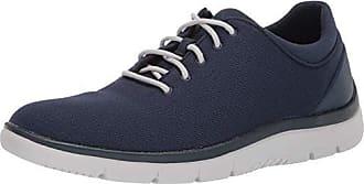 Clarks Mens CloudSteppers Tunsil Ace Shoe, Navy Textile, 7.5 M US