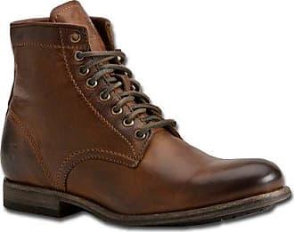 Frye Mens Tyler Lace Up Boot, 86070-Cognac, 8 D US