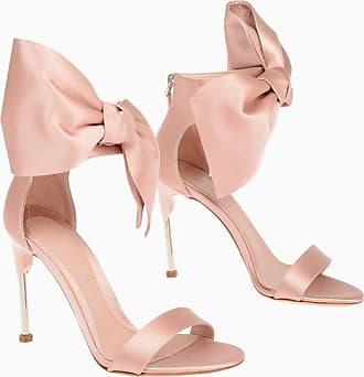 Alexander McQueen Satin Sandals with Bow Applied 11 cm Größe 36,5