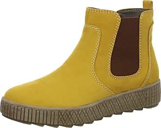 Jana Womens 8-8-25461-25 Ankle Boot, Saffron, 9 UK
