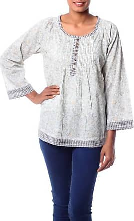 Novica Cotton blouse, Rajasthan Grace
