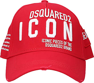 Dsquared2 Snapback Cap OTHER CARGO Gabardine logo red