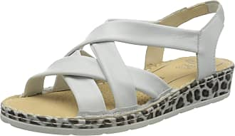 Ara Womens Positano Ankle Strap Sandals, Grey Nebbia 06, 6.5 UK