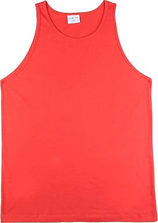 KOHMAR Camiseta Regata Básica Masculina kohmar- Vermelho- 101