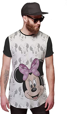 Di Nuevo Camisa Longa Minnie Mouse Rostinhos OF Whitte Disney
