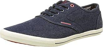 cbb783c52a4 Jack & Jones Herren Jjspider Canvas Light Blue Denim Sneaker