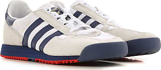 adidas Sneaker für Herren, Tennisschuh, Turnschuh Günstig im Sale, Weiss, Wildleder, 2019, 40.5 41 42 42.5 44 44.5 45