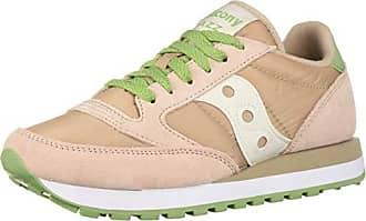 470b1864e Saucony Originals Womens Jazz Original Sneaker Blush/Green/Cream 10 M US