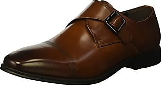 Kenneth Cole Reaction Mens Pure B Monk-Strap Loafer, Cognac, 7.5 M US