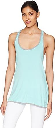 PL Movement by Pink Lotus Womens Tropical Waves Beach Front French Terry Sleeveless Pullover Top