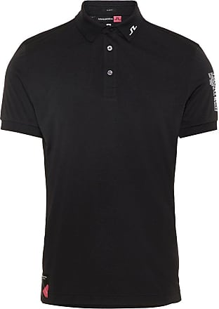 J.Lindeberg Tour Tech Archived Polo Shirt Man Svart