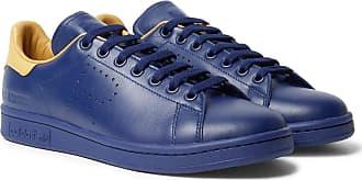 designer fashion 1244a 3a1b3 Raf Simons + Adidas Originals Stan Smith Leather Sneakers - Navy