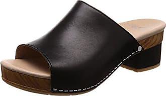 Dansko Womens Maci Slide Sandal, Black Full Grain, 38 M EU (7.5-8 US)