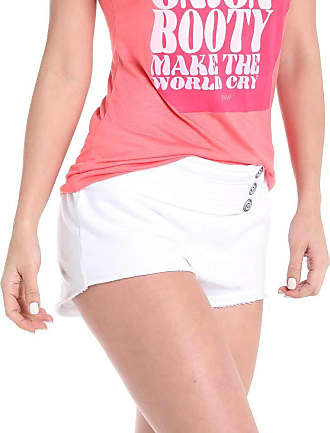 Red Nose SHORTS FEMININO PALA BUTTON - RED NOSERED NOSE OFF WHITE PP