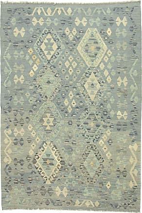 Nain Trading 181x123 Kilim Afghan Heritage Rug Grey/Beige (Afghanistan, Handwoven, Wool)