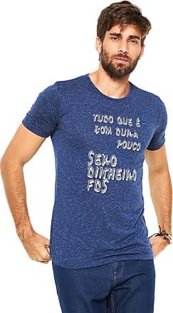 Handbook Camiseta Handbook Estampada Azul