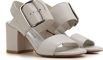 Stuart Weitzman Sandals for Women On Sale in Outlet, Dirty White, Leather, 2017, 6